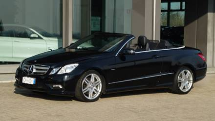 Immagine Mercedes Benz E CABRIO 250 CGI BLUEFFICIENCY AVANTGARDE AMG